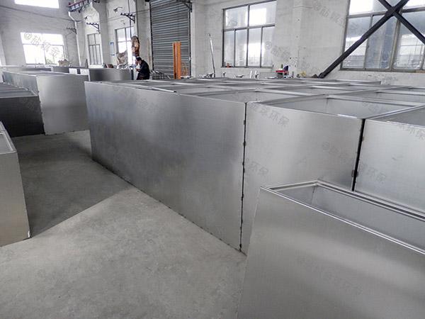 地埋自动刮油餐厨垃圾油水分离处理设备原理