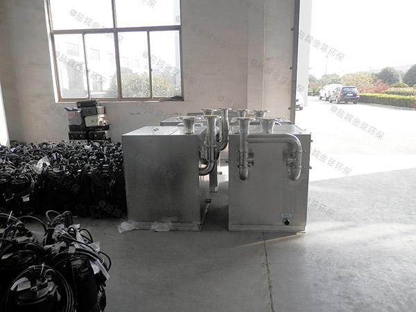 餐厨粉碎型污水提升设备排污管是多少