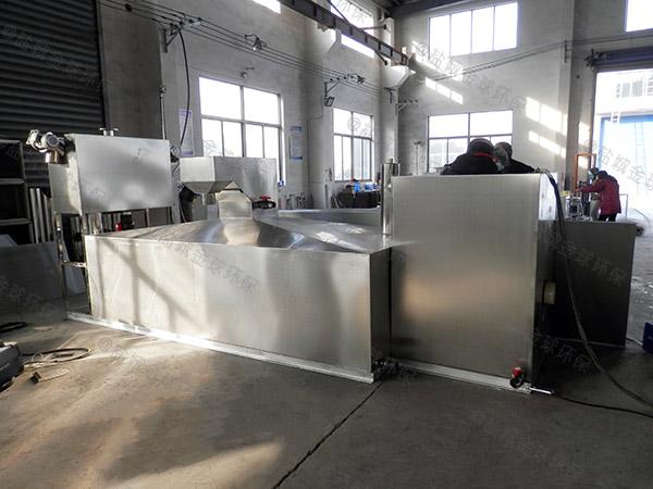 埋地式全自动餐厨油污水分离器尺寸