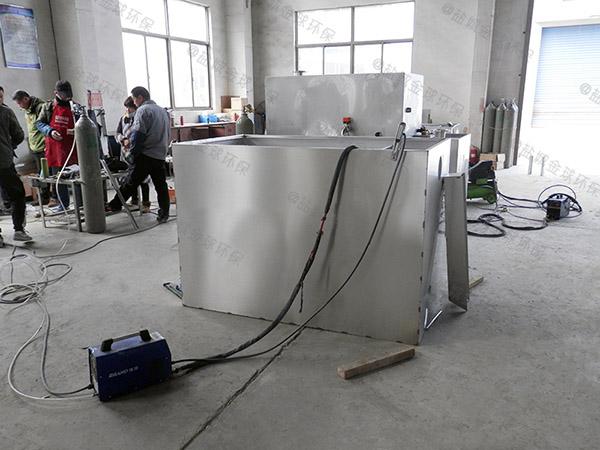 地上式分体式餐饮油污水分离器规格型号及容量