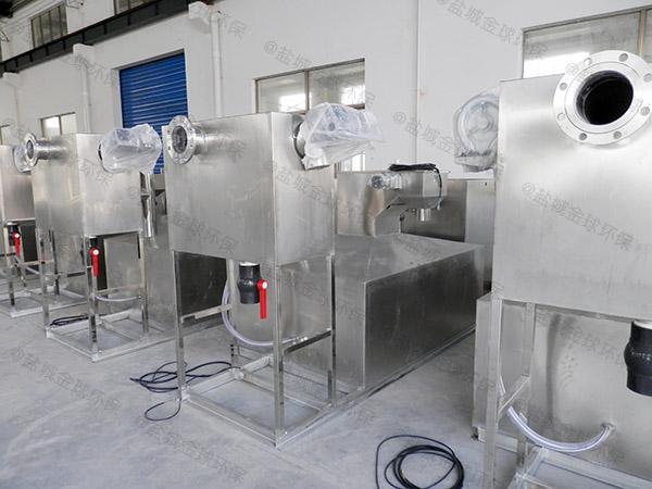 室内机械食堂油污水分离装置作用