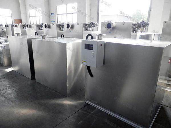 别墅专用平地式和深坑式污水隔油提升器可靠吗
