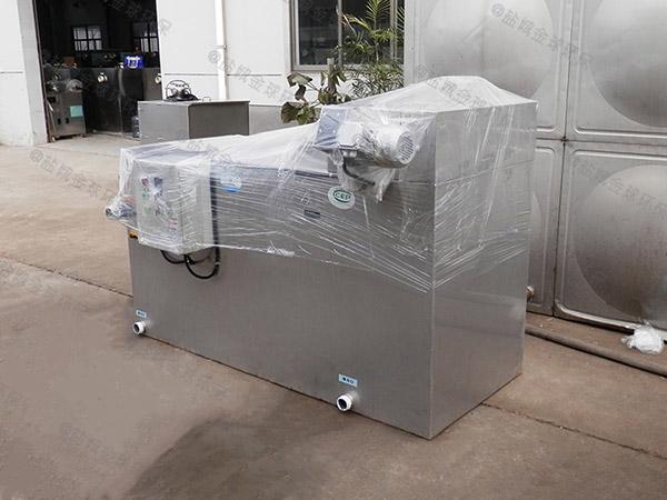 埋地加热厨房油水分离装置安装图