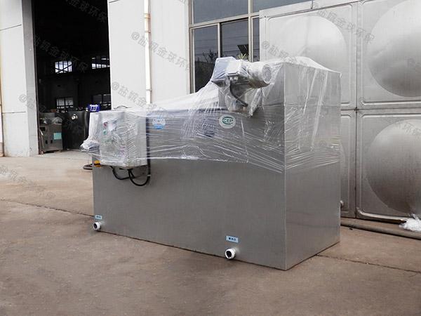 地埋加热型餐厅油水分离设备图集