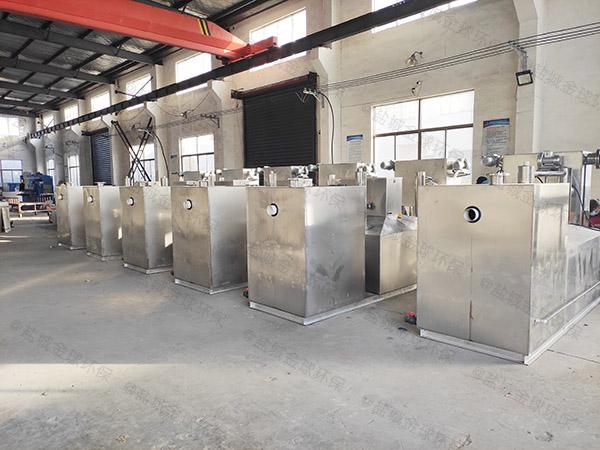 户外多功能餐厨油污水分离器标准图集
