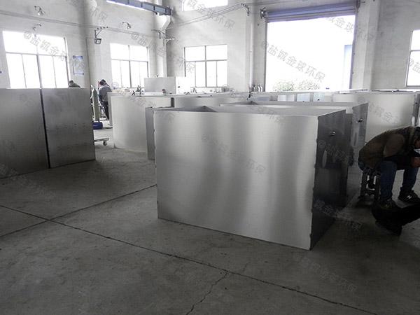 地下室无动力餐厅油水分离装置生产厂家