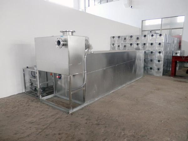 地上全自动智能型食堂垃圾油水分离的作用